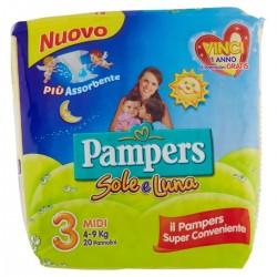 PAMPERS SOLELUNA 3 MIDI 4/9...